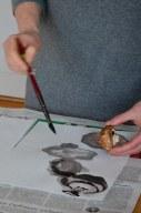 Pilze zeichnen (c) Foto von M.Fanke