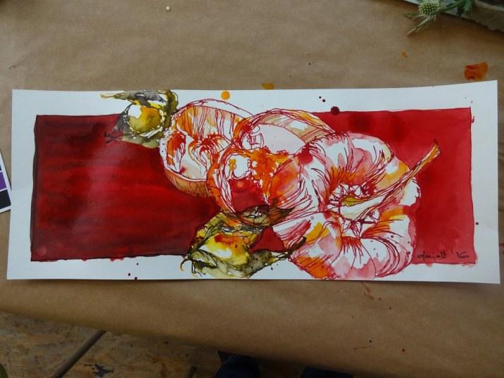 9 Paprika von Dorothea im Panoramaformat (c) Foto von Susanne Haun