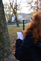 4 Susanne Haun beim Zeichnen (c) Foto von M.Fanke
