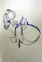 5 Abstrakte Naturform (c) Zeichnung von Susanne Haun