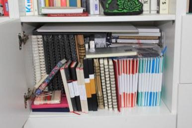 2 Skizzenbücher (c) Foto von Susanne Haun