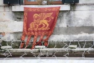 24 Erste Eindrücke in Venedig - Das Wappen (c) Foto von Susanne Haun