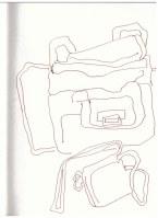 Damenhandtasche (c) Zeichnung von Susanne Haun