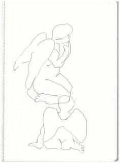 Engel (c) Zeichnung von Susanne Haun