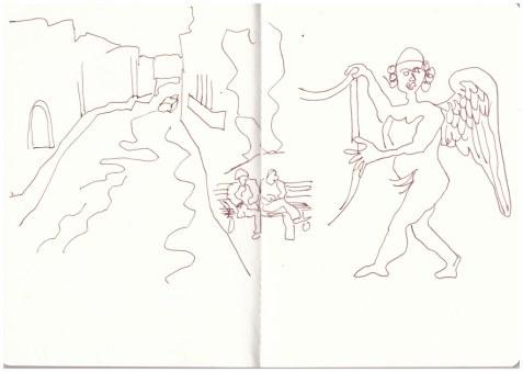 1 Venedig 2016 (c) Zeichnung von Susanne Haun