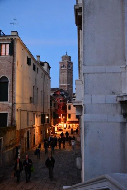 4 Venedig - Es wird dunkel (c) Foto von M.Fanke