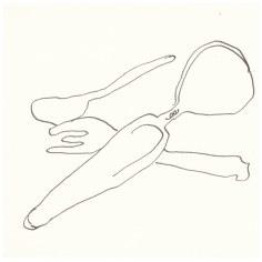 Besteck (c) Zeichnung von Susanne Haun