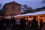 Weihnachtsmarkt - Weddingmarkt vor der Nazarethkirche Leopoldplatz (c) Foto von M .Fanke