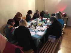 Workshop Zeichnen in der Nazarethkirche (c) Foto von Susanne Haun (1)