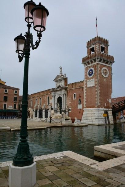 3 Der alte venezianische Hafen Arsenal (c) Foto von Michael Fanke