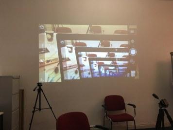 2 Filmen mit AugenZeugeKunst Anna Maria Weber (c) Foto von Susanne Haun