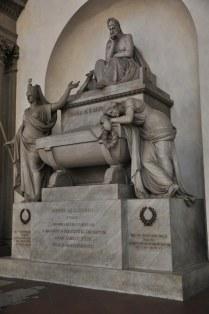 Kenotaph in der Basilika Santa Croce in Florenz (c) Foto von M.Fanke