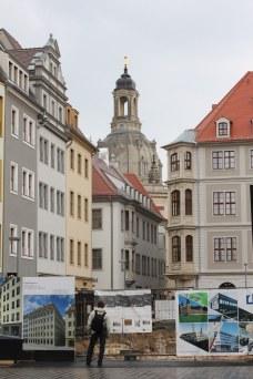 In der Altstadt von Dresden (c) Foto von Susanne Haun