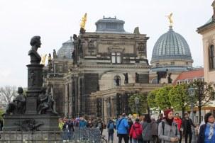 Brühlsche Terassen von Dresden (c) Foto von Susanne Haun