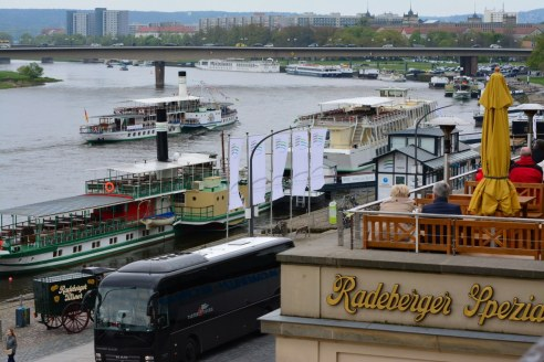 Brühlsche Terassen in der Altstadt von Dresden (c) Foto von M.Fanke