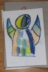 Engel (c) Pastell von Susanne Haun