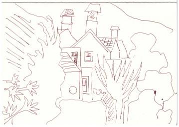 Bathampton (c) Zeichnung von Susanne Haun