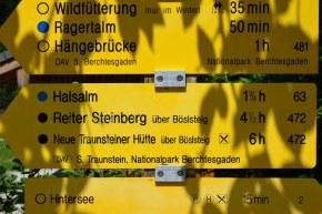 Hintersee im Berchtesgadener Land (c) Foto von M.Fanke