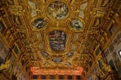 Decke des Augsburger Rathaussaal (c) Foto von M.Fanke