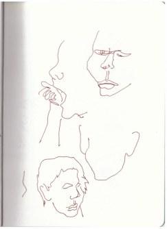 Ein Kind in Neuroddahn (c) Zeichnung von Susanne Haun