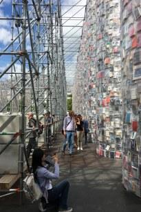 documenta 14 - Parthenon der Bücher (c) Foto von Susanne Haun