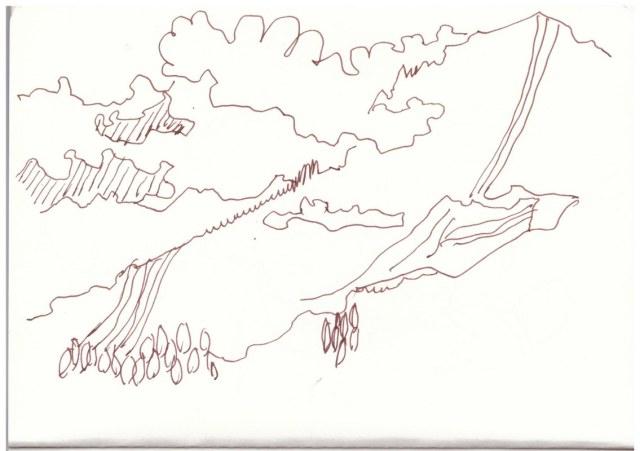 Halsarm - Berchtesgadener Land (c) Zeichnung von Susanne Haun