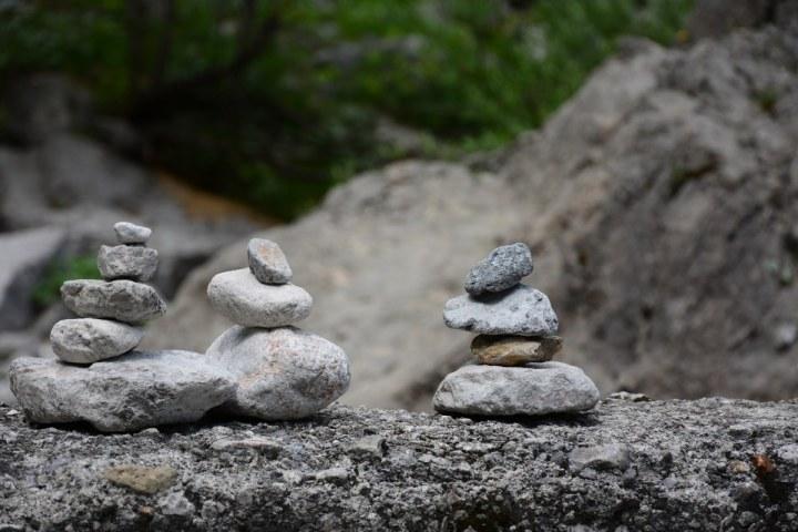 Steinmännchen am Watzmann (c) Foto von M.Fanke