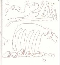 Eiswelten - Sednas Hütte (c) Zeichnung von Susanne Haun
