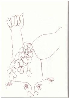 Torso (c) Zeichnung von Susanne Haun