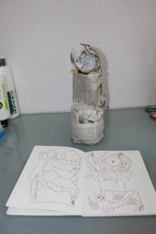 Verpacktes Unglück (c) Foto von Susanne Haun