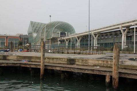 Venedig aus dem Vaporetto - Hauptbahnhof (c) Foto von Susanne Haun