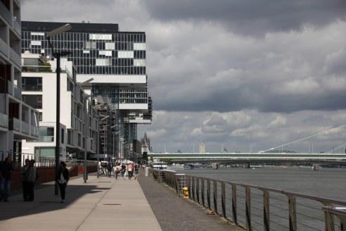 Kranhäuser Köln am Rhein (c) Foto von Susanne Haun