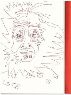 Alte weise Inuit Frau (c) Zeichnung von Susanne Haun