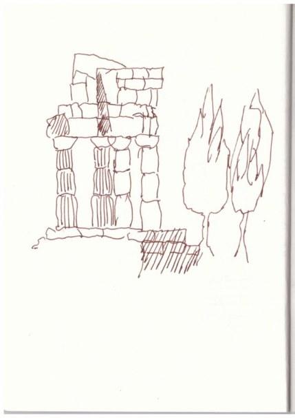Sizilien (c) Zeichnung von Susanne Haun