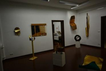 Ausstellungsansicht Querbrüche - Objekte von Gabriele D.R.Guenther (c) Foto von M.Fanke (2)