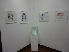 Impressionen von der Ausstellung Querbrüche - Werke von Susanne Haun (c) Foto von M.Fanke