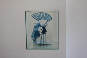 Lots Frau - 30 x 30 x 36 cm (c) Glasobjekt von Susanne Haun