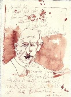 Tagebuch Z 2007 03 03 - 15 x 20 cm (c) Zeichnung von Susanne Haun
