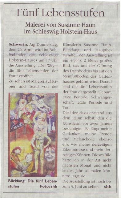 Unser Schwerin 22.4.2007