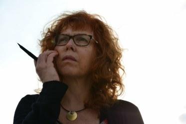 Athen Susanne Haun auf dem Filopappou (c) Foto von M.Fanke