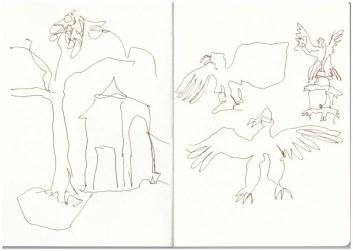 Bernau (c) Zeichnung von Susanne Haun