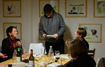 Impressionen KunstSalon am Dienstag bei Susanne Haun (c) Foto von M.Fanke