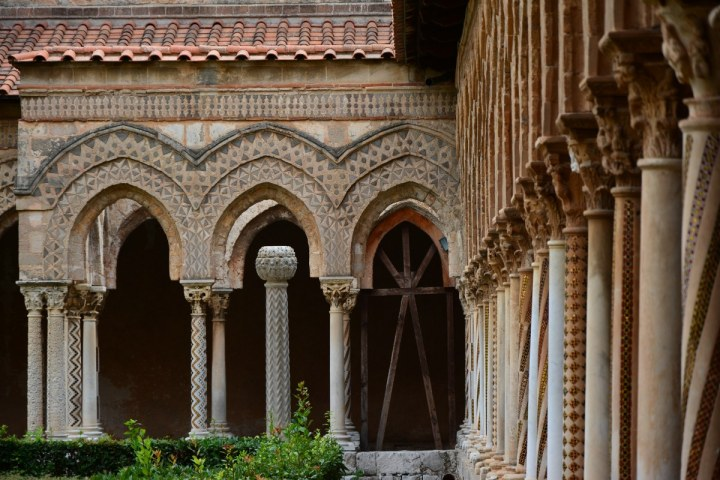 Klostergang von Monreale (c) Foto von M.Fanke