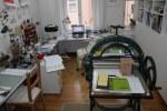 Mein Atelier am 31.10.2017 (c) Foto von Susanne Haun