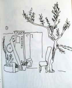Monreale - Sizilien (c) Zeichnung von Susanne Haun
