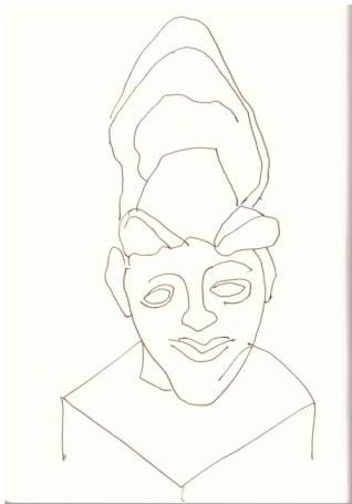 Mein Hoplit (c) Zeichnung von Susanne Haun