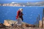 Gerda beim Poseidontempel auf der Attika (c) Foto von Susanne Haun