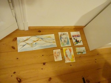 Impressionen Weihnachts-Workshop bei Susanne Haun (c) Foto von Susanne Haun