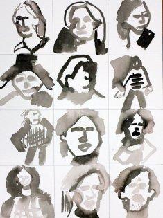 Meine Sinnbilder von Herbert Grönemeyer (c) Zeichnung von Susanne Haun