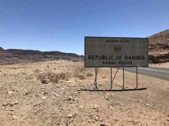 Auf dem Weg zur Grenze Namibia (c) Foto von Susanne Haun